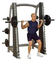 Smith Machine Bodysolid Club Line Counter Balanced Smith Machine