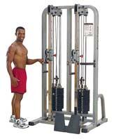 Appareil de musculation Double Colonne à Cable PRO Bodysolid Club Line - Fitnessboutique