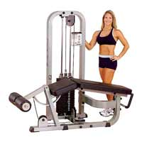 Poste cuisses et mollets Bodysolid Club Line Leg Curl Machine