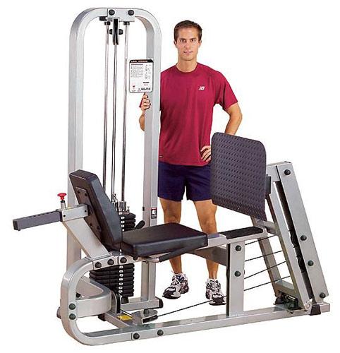 Bodysolid Club Line Leg Press Machine Presse à Cuisses Horizontale