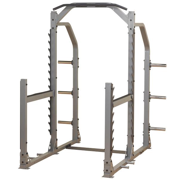 Bodysolid Club Line Cage à squat Multi-Fonctions