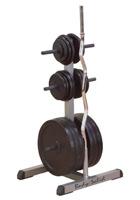 Support de rangement Bodysolid Range disques et barres diametre 28 mm
