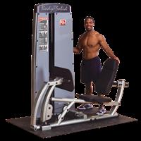 Postes isolés Double Poste Presse à Cuisse et Mollets Bodysolid Pro Dual - Fitnessboutique