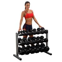Support de rangement Rack à haltères Bodysolid - Fitnessboutique