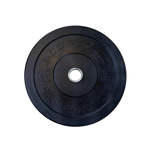 Disque Bodysolid Chicago Olympic Bumper Plate 10 kg