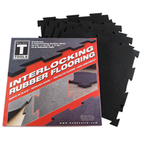 Tapis de sol 4 dalles de protection 50 x 50 cm Bodysolid - Fitnessboutique