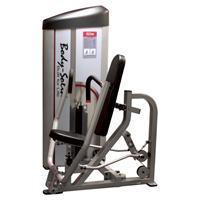 Poste pectoraux et épaules Chest Press 140 kg Bodysolid Club Line - Fitnessboutique