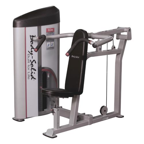 Poste pectoraux et épaules Bodysolid Club Line Shoulder press 140 kg