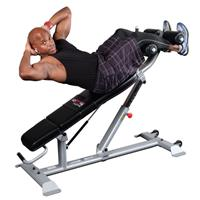 Bancs Multi-Positions Ab Bench Bodysolid Club Line - Fitnessboutique