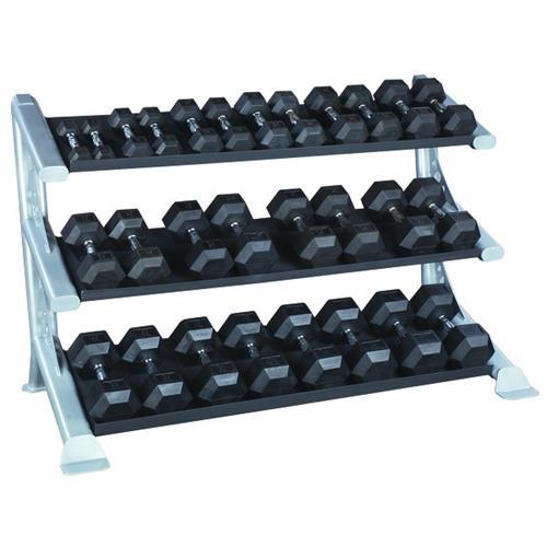 Support de rangement Râtelier de stockage modulaire pour Haltères Bodysolid - Fitnessboutique