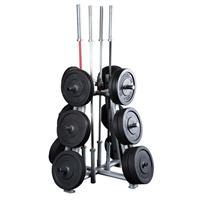 Support de rangement Rangement de poids et barres Olympiques Bodysolid - Fitnessboutique