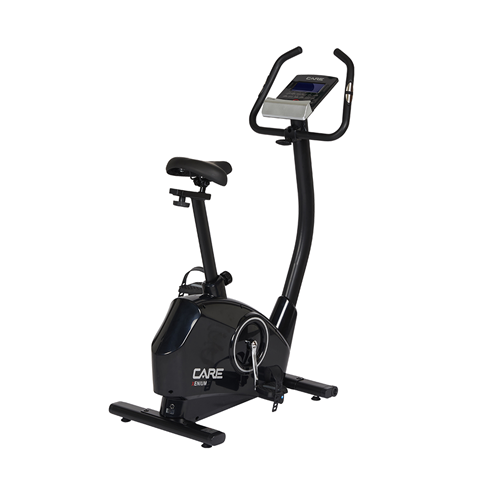Vélo d'appartement Care Xenium Black + ceinture thoracique