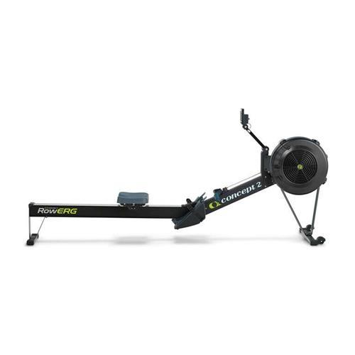 Rameur RowErg noir avec écran PM5 Concept2 - Fitnessboutique