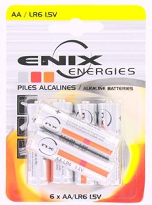 Enix Piles alcalines1.5V LR6