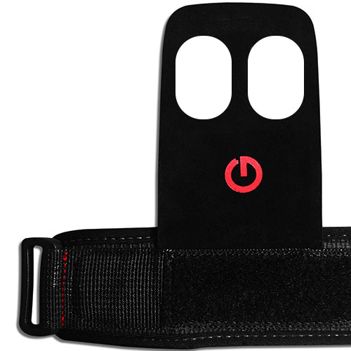 Gants et Straps Excellerator Gym Grips Taille S Black Red