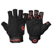 Gant et strap Excellerator Weightlifting gloves Black/Red Taille S