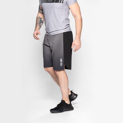 Vêtements Rixe Short Charbon Argent Acier  FBC - Fitnessboutique