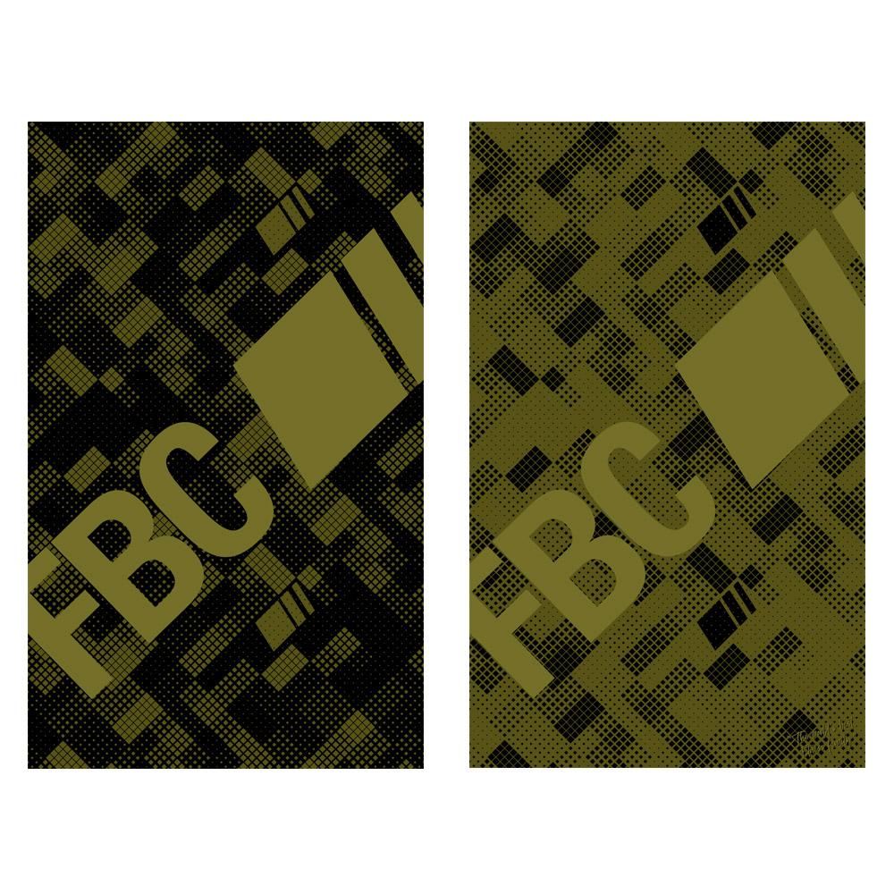 FBC IKON Serviette de Sport Labyrinthe Army