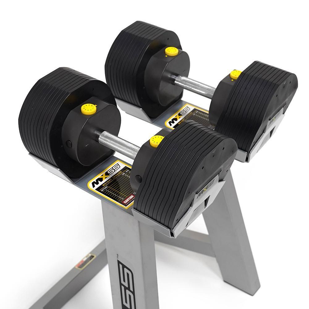 First Degree MX-55 Ajustable Dumbell Set