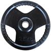 Musculation Disque olympique caoutchouc noir Fitness Doctor - Fitnessboutique