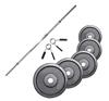 Fitness Doctor Pack Barre de 1,83 m + Poids 100 kg