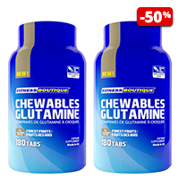 Acides aminés Respect Duo Glutamine Chewables