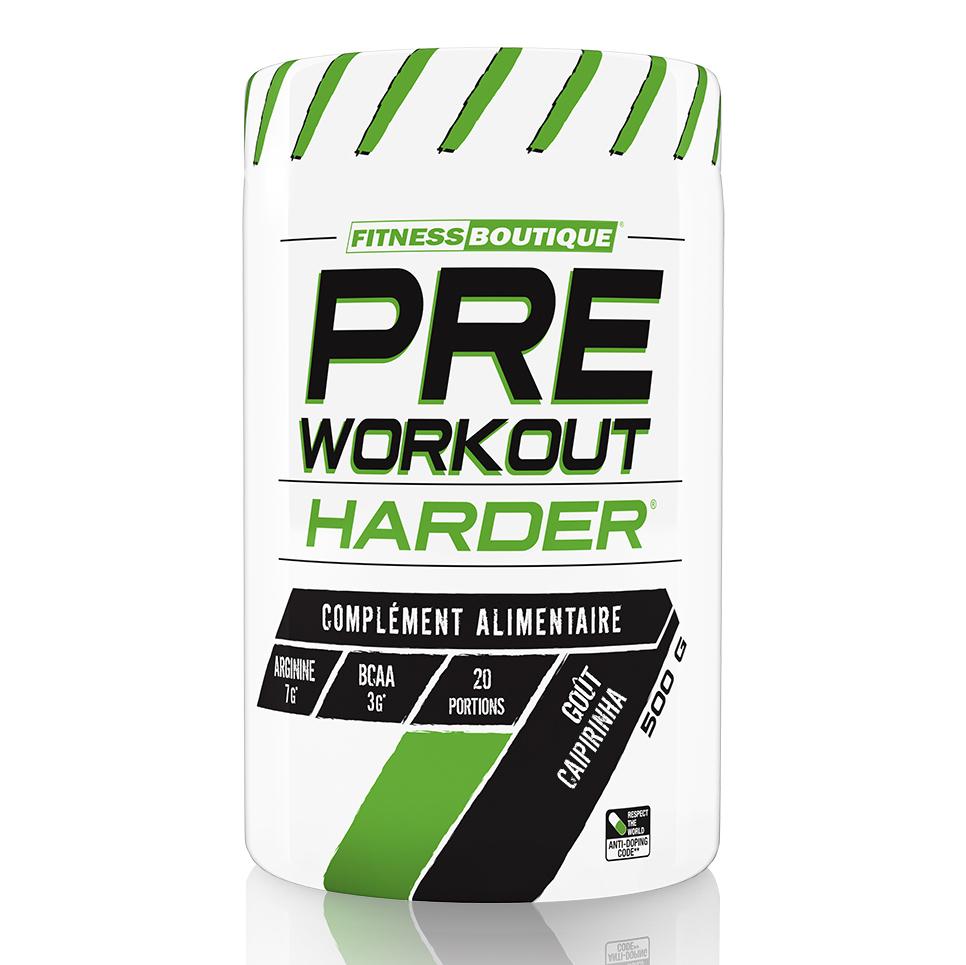 Harder Pre Workout Harder