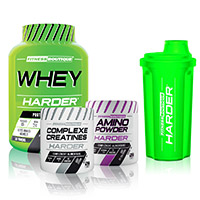 Whey protéine Pack Harder Bodytime Harder - Fitnessboutique