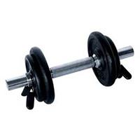 Barres et haltères spécifiques Fitness Doctor Set Haltère 10 kg Noir