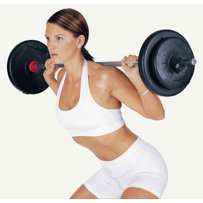 Fitness Doctor Barre de Body Pump 130 cm