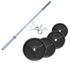 Musculation Pack Poids Olympiques 110 kg + barre + stop disques Fitness Doctor - Fitnessboutique
