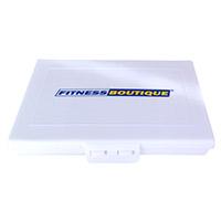 Shaker Respect Pilulier blanc Logo Fitnessboutique 2 couleurs
