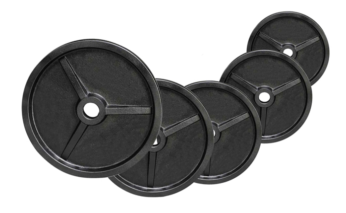 Fitness Doctor Pack Poids Olympiques 140 kg
