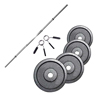 Standard - Diamètre 28mm Pack Barre de 1,52 m + Poids 40 kg Fitness Doctor - Fitnessboutique