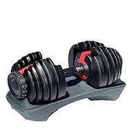 Barres et haltères spécifiques Fitness Doctor Paire Haltère Réglable 2,5 à 24 kg