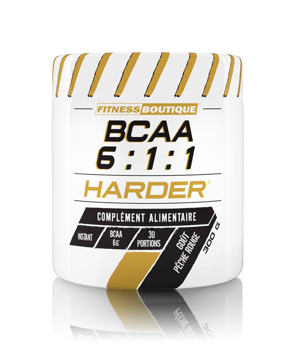 Acides aminés FITNESSBOUTIQUE HARDER BCAA 6:1:1