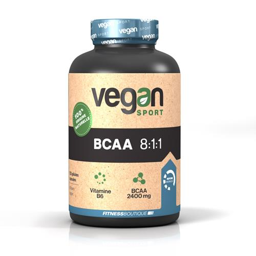 Acides aminés Vegan Sport BCAA 8:1:1