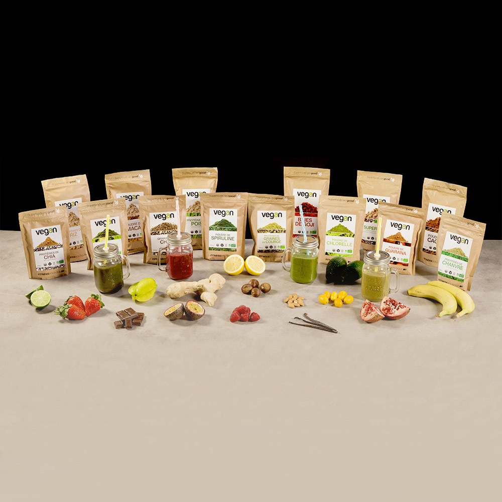 Vegan Graines de Chia Cru et BIO