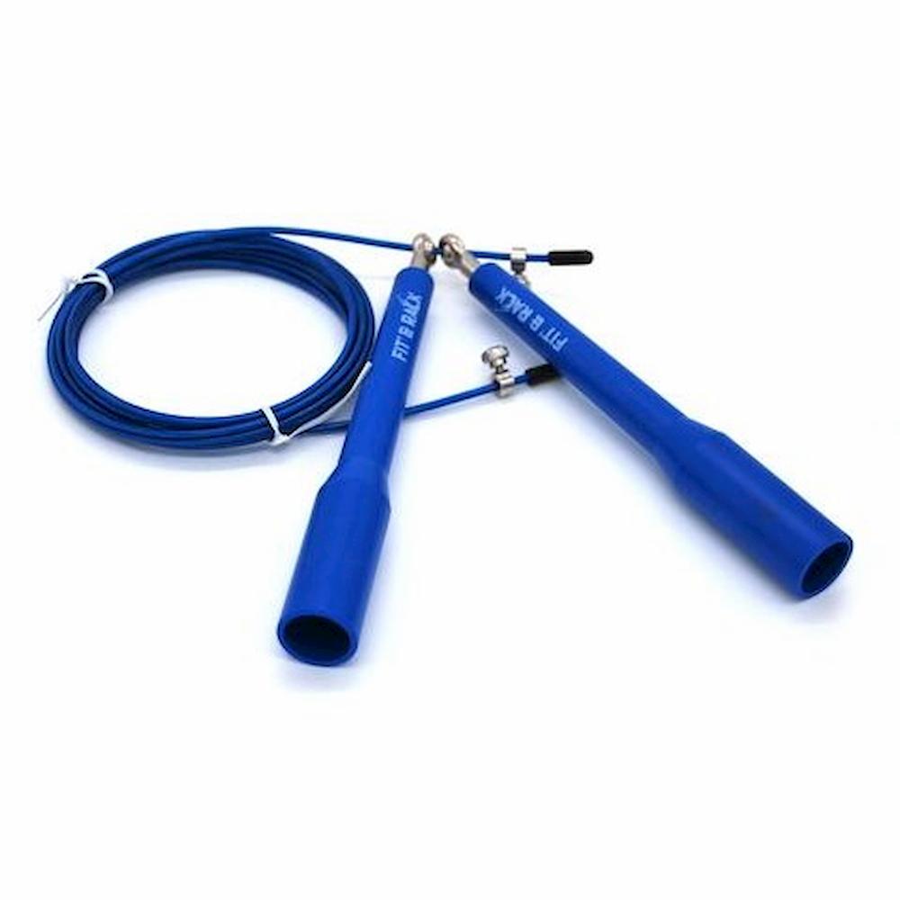 Fit' & Rack Corde à sauter Entrainement Bleu