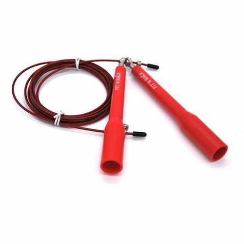 Corde à sauter Corde à sauter Entrainement Rouge Fit' & Rack - Fitnessboutique
