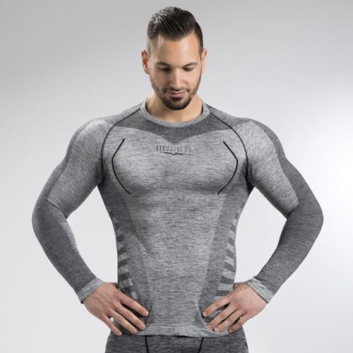 T-shirts Fit Drivers T Shirt Manches Longues Technical Compression Homme
