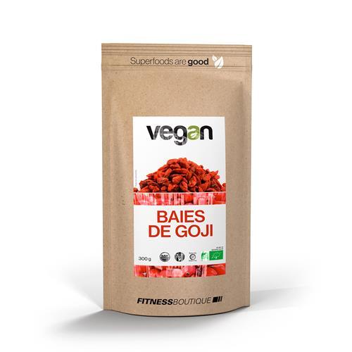 Cuisine - Snacking Baies de Goji Crues et BIO Vegan - Fitnessboutique