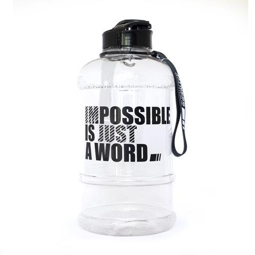 Shaker Impossible Bottle Transparent 1.3 L Fitnessboutique - Fitnessboutique