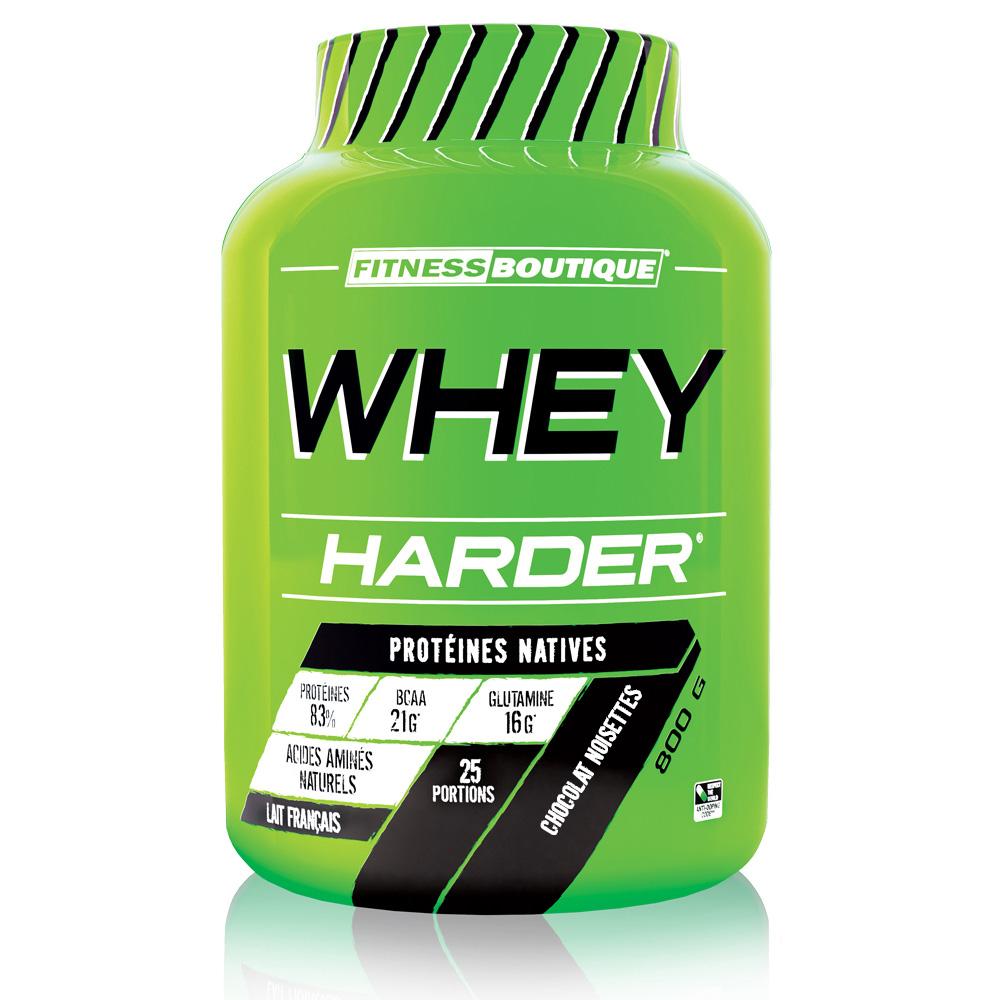Protéines Whey Harder FITNESSBOUTIQUE HARDER Chocolat Noisettes Pot ... 664a29c5607