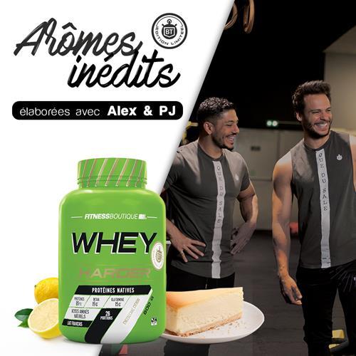 Whey protéine Harder Whey Harder Edition Limitée Bodytime