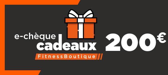 Fitnessboutique Chèque-cadeaux 200€
