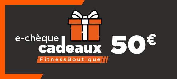 Fitnessboutique Chèque-cadeaux 50€