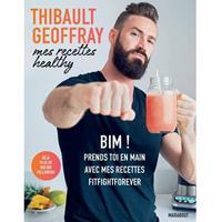 Librairie - Musique Thibault Geoffray - Mes recettes Healthy Hachette - Fitnessboutique