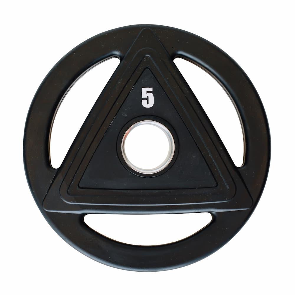 Heubozen Disque caoutchouc olympique 5 kg Noir