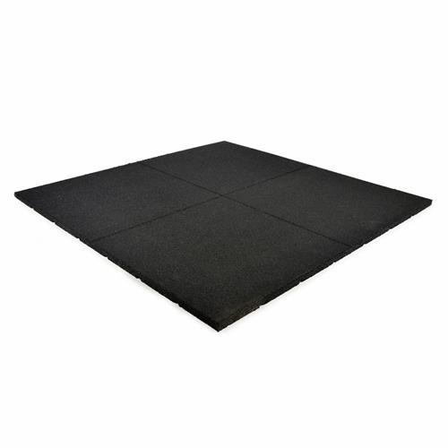 Dalles de Protections de sol Heubozen Dalle noire 1x1m - 20mm